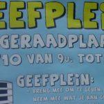 Dageraadplaats even Geefplein